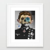 war Framed Art Prints featuring War Collage 2 by Marko Köppe