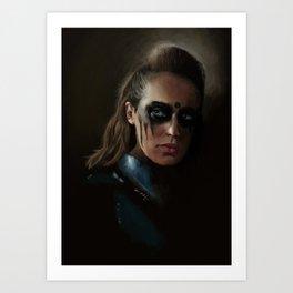 Lexa Art Print