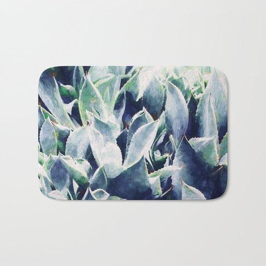 Cactus Garden #society6 #deco3 buyart Bath Mat