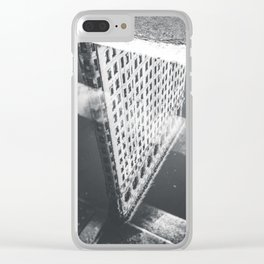 Flat Iron Building - NYC Reflection Clear iPhone Case