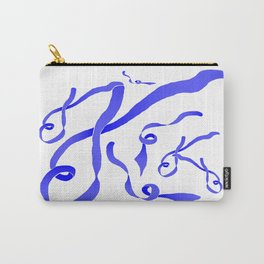 Blue Ribbon Carry-All Pouch