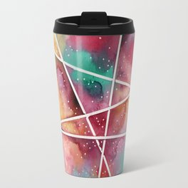 masking experiment 1 Travel Mug