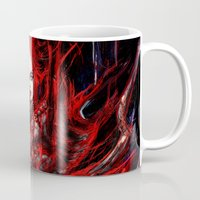 witchcraft Mugs featuring Witchcraft by Gyossaith