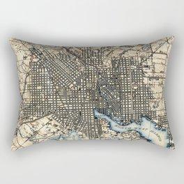 Vintage of Baltimore Maryland (1898) Rectangular Pillow
