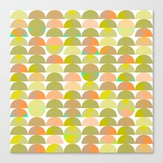 Geometric Juice Canvas Print