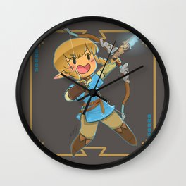 Chibi Linkle Wall Clock