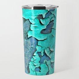 aqua paint Travel Mug