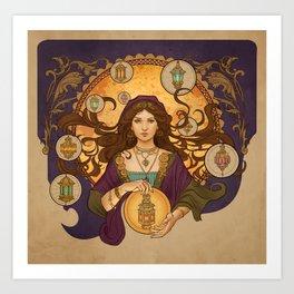 Lanterna magica Art Print