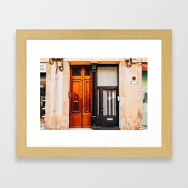 Sant Martí - Barcelona, Spain - #1 Framed Art Print