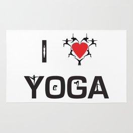 I heart Yoga Rug