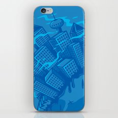 Dying planet iPhone Skin