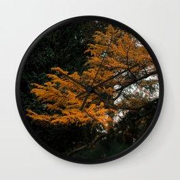 The tree at Kew Wall Clock