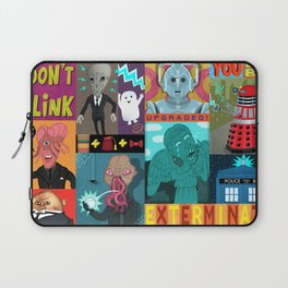 Doctor Who Monsters Laptop Sleeve