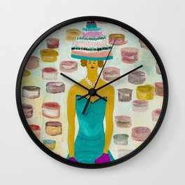 Baker Chick, but also a Boxer Wall Clock