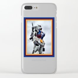 Gundam Pride Clear iPhone Case