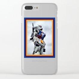 Gundam Pride Clear iPhone Case