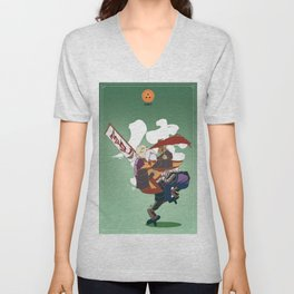 Dragon Ball Bushido : Master Roshi Unisex V-Neck