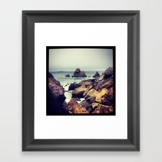 Out of the Tunnel Framed Art Print