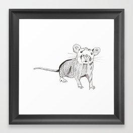 Ratty Framed Art Print