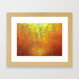 """""""Woven Harakeke"""" - Golden Butterfly Framed Art Print"""