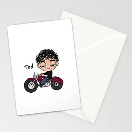 Tod Cycle Stationery Cards