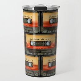 awesome transparent mix cassette tape vol 1 Travel Mug