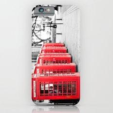 Vintage Red  Slim Case iPhone 6s