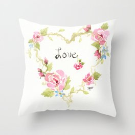 What the World Needs Now Throw Pillow