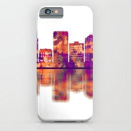 Greensboro North Carolina Skyline iPhone Case