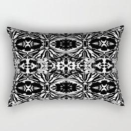 Zebra Butterfly Pattern Rectangular Pillow