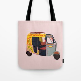 Ride with the Mob Tote Bag