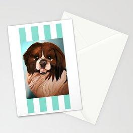 Peke Wookie Stationery Cards