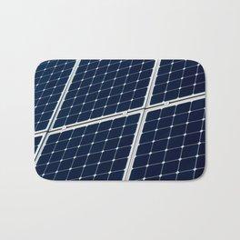 Solar power panel Bath Mat