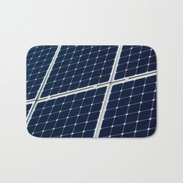 Solar power panel Bath Mat