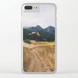 Golden Malibu Clear iPhone Case