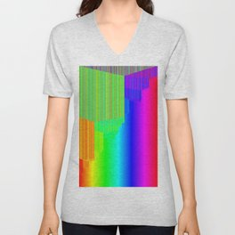 R Experiment 5 (quicksort v3) Unisex V-Neck