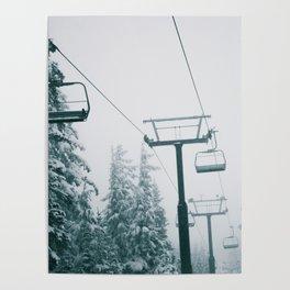 Ski Lift II Poster