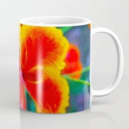Peacock flower 3 Coffee Mug