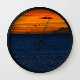 deep sun Wall Clock