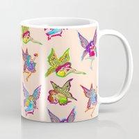 fairies Mugs featuring Fairies by Elizabeth Kate