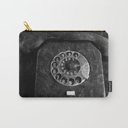 RFT phone, black and white photography Carry-All Pouch