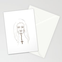 Santa de la Perla Stationery Cards