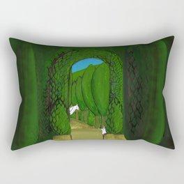 Into the Garden 2019 Rectangular Pillow