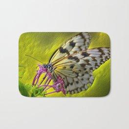Reptile Butterfly Bath Mat