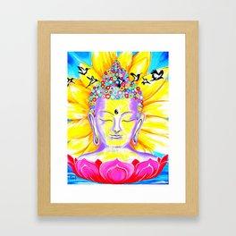 Wings to Awakening Framed Art Print