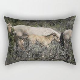 Young but Keeping Up Rectangular Pillow
