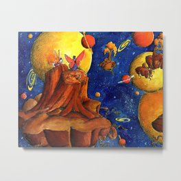 Together still Metal Print