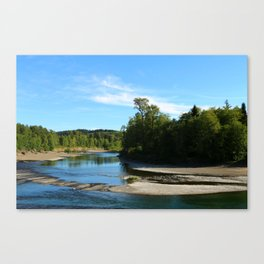 Quillayute River Canvas Print