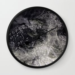 Floating ice sheets Wall Clock