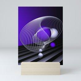 go violet -16- Mini Art Print